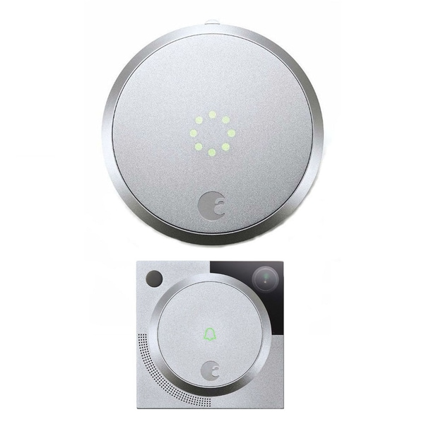 Shop August Smart Lock Home Kit Silver With Video