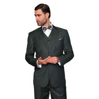 Statement Men's 3-piece Hunter Wool Suit