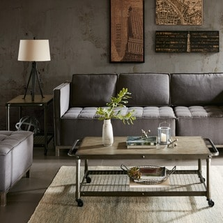 Madison Park Hugo Taupe Multi Coffee Table