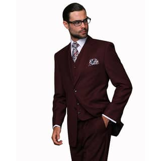 Statement Men's Burgundy Wool 3-piece Suit|https://ak1.ostkcdn.com/images/products/13466138/P20153960.jpg?impolicy=medium