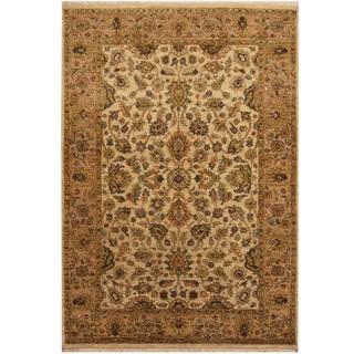 Handmade Tabriz Wool Rug (India) - 4'2 x 6'