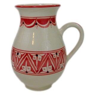 Large Stoneware Pitcher Nejma Design (Tunisia)