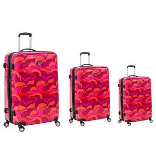 Ful Sunset 3-piece Fashion Hardside Spinner Luggage Set