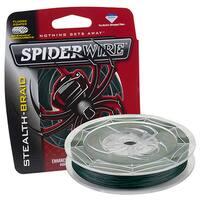 Spiderwire Stealth Braid Superline 200-yard 0.012-inch-diameter 30-pound Breaking Strength Moss Green Line Spool