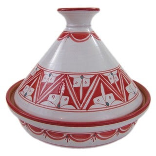 Handmade Cookable Tagine Nejma Design (Tunisia)