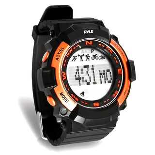 Pyle Multi-Function Sports Wrist Watch, Sleep Monitor, Pedometer Step Counter, and Stop Watch