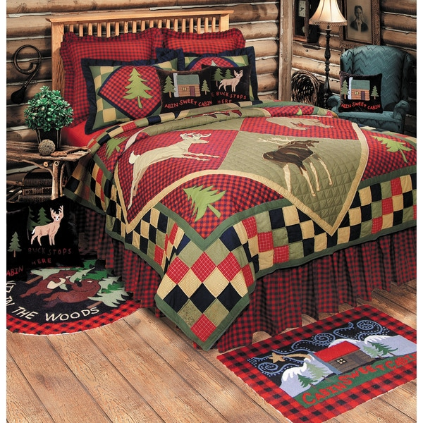 Lodge Cotton Quilt (Shams Not Included)