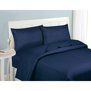 Fashion Street Striped 4 Piece Sheet Set (More options available)