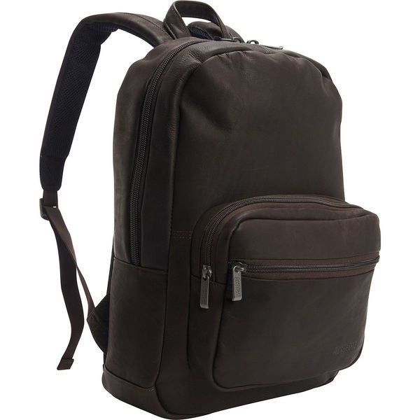 277892c3b Kenneth Cole Reaction Colombian Leather 15.6-inch Laptop Backpack