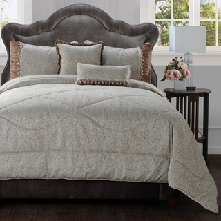 Jennifer Taylor Crystal 5 Piece Comforter Set
