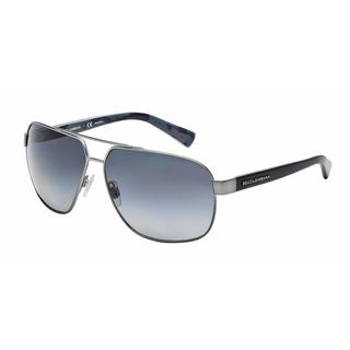 Dolce & Gabbana Mens DG2140 URBAN 1244T3 Gunmetal Metal Cateye Sunglasses