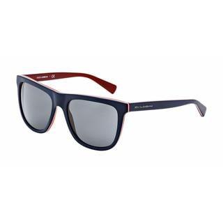 Dolce & Gabbana Mens DG4229 URBAN 187287 Blue Plastic Square Sunglasses