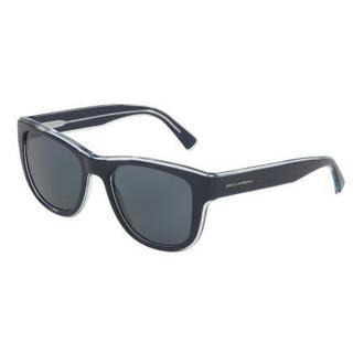 Dolce & Gabbana Mens DG4284 304887 Plastic Plastic Square Sunglasses