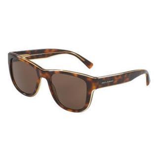 Dolce & Gabbana Mens DG4284 304973 Plastic Plastic Square Sunglasses