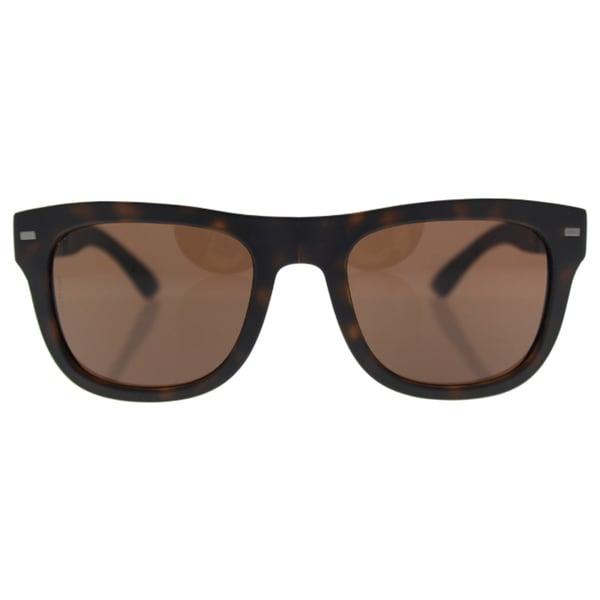 e7b5109de38 Dolce  amp  Gabbana Mens DG6089 FOLDING 502 73 Havana Plastic Square  Sunglasses - Brown