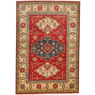 herat oriental afghan handknotted kazak wool rug 4u00271 x - 3x5 Rugs