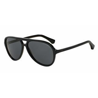 Emporio Armani Mens EA4063F 546687 Blue Plastic Cateye Sunglasses