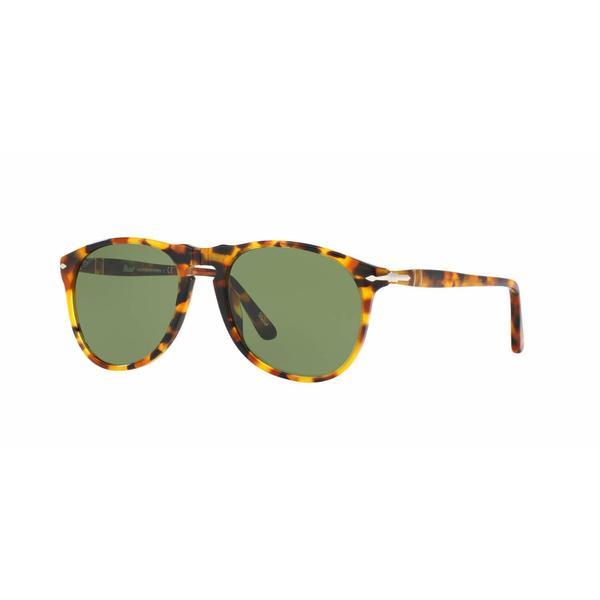 e82a95c226 Shop Persol Mens PO9649S 10524E Havana Plastic Cateye Sunglasses ...