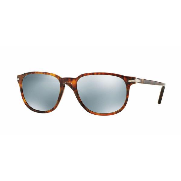 1bfe01d5e7 Shop Persol Mens PO3019S 108 30 Crystal Plastic Square Sunglasses ...