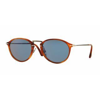 Persol Mens PO3046S 96/56 Havana Plastic Phantos Sunglasses