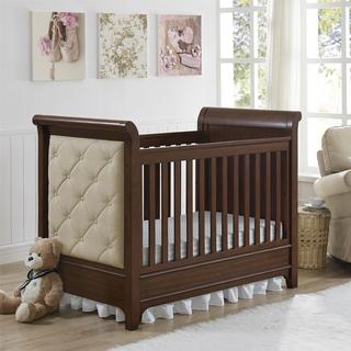 Monbebe Thatcher 3-in-1 Upholstered Crib