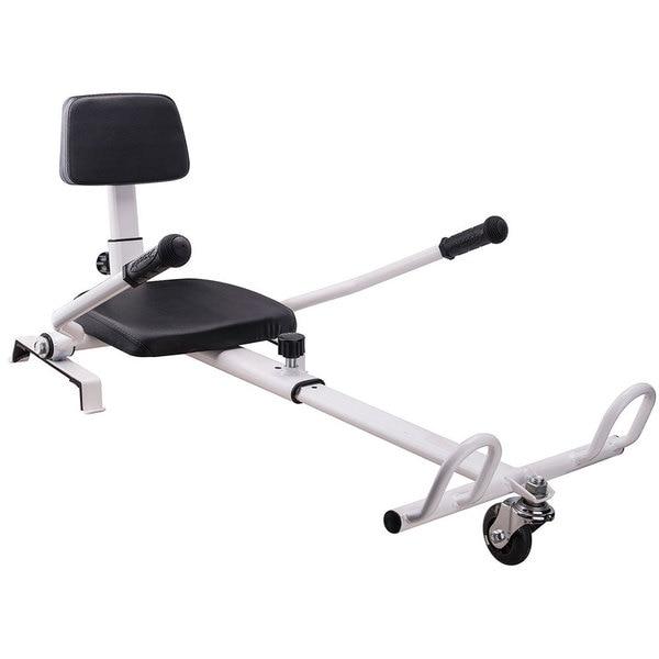MotoTec Hoverboard Go Kart Attachment White