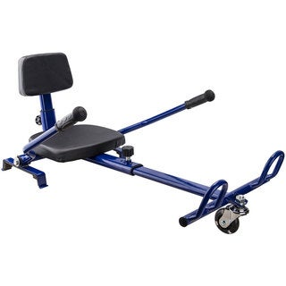 MotoTec Hoverboard Go Kart Attachment Blue