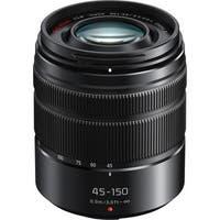 Panasonic Lumix G Vario 45-150mm f/4-5.6 ASPH. MEGA O.I.S. Lens (Matte Black)