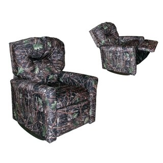 Dozydotes Kids Contemporary Camoflauge True Timber Conceal Rocker Recliner
