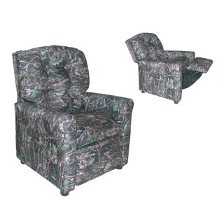 Dozydotes Kids 4 Button Camoflauge True Timber Conceal Recliner