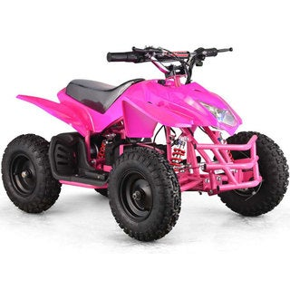 MotoTec Pink 24v Mini Quad Titan v5