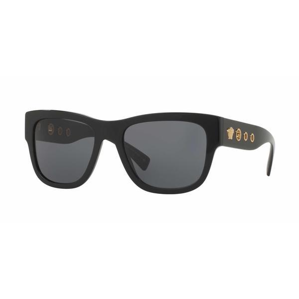 bf036c34e99 Shop Versace Mens VE4319 GB1 87 Black Plastic Square Sunglasses - Free  Shipping Today - Overstock.com - 13467639