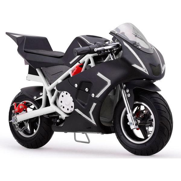 MotoTec Cali White 36v Electric Pocket Bike