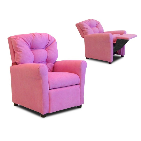 Shop Dozydotes Kids 4 Button Hot Pink Recliner Free