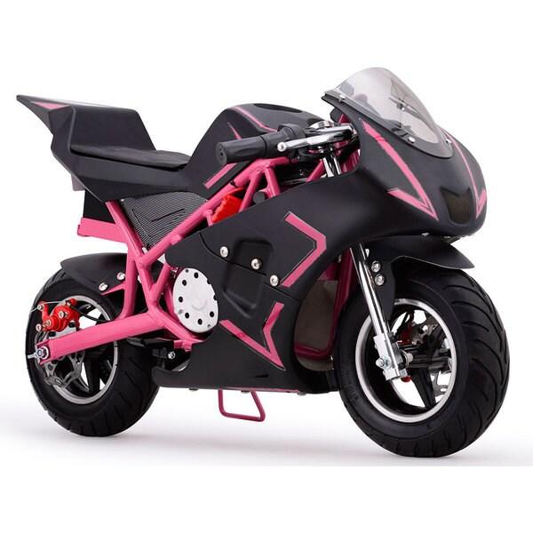 MotoTec Cali Pink 36v Electric Pocket Bike