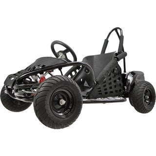 MotoTec Black 48v 1000w Off Road Go Kart