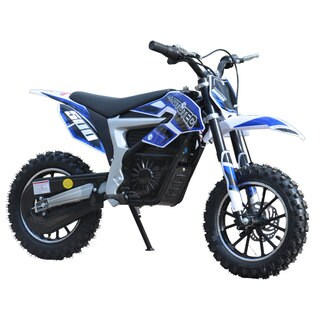 MotoTec Blue 36v Electric 500w Lithium Dirt Bike
