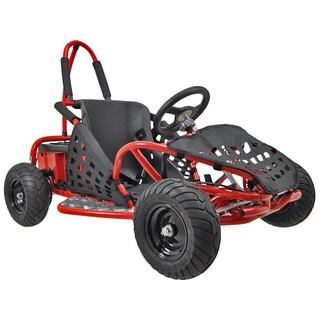 MotoTec Red 48v 1000w Off Road Go Kart