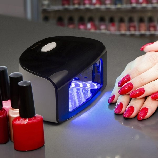 Shop Belmint Professional Gel Polish LED Nail Dryer Lamp - Free ...