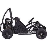 MotoTec Black 79cc Off Road Go Kart
