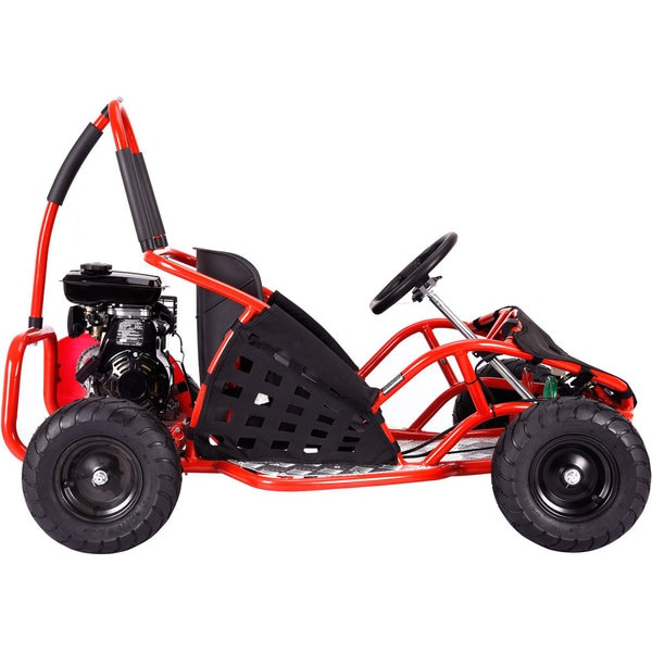 MotoTec Red 79cc Off Road Go Kart