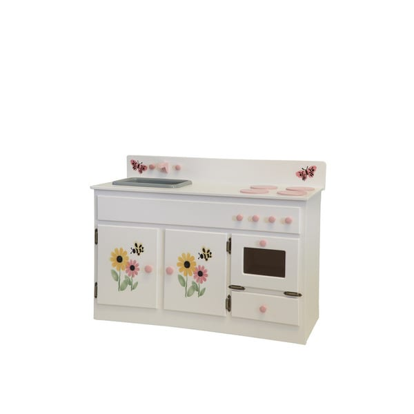 Shop Child S Play Kitchen Sink Amp Stove Combo White With
