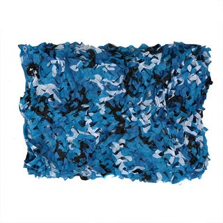 SAS Blue Camo Plastic Outdoor Netting