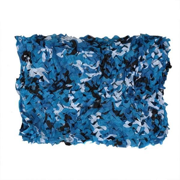 SAS Blue Camo Plastic Outdoor Netting