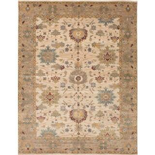 ecarpetgallery Heirloom Ivory Wool Rug (8'0 x 9'9)