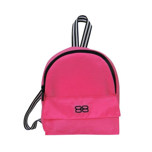 Sophia's Pink Nylon 18-inch Doll Backpack