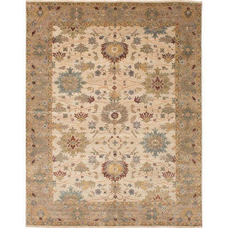 ecarpetgallery Heirloom Ivory  Wool Rug (10'0 x 13'9)
