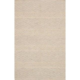ecarpetgallery Tribeca Yellow Wool Kilim (8'0 x 10'0)