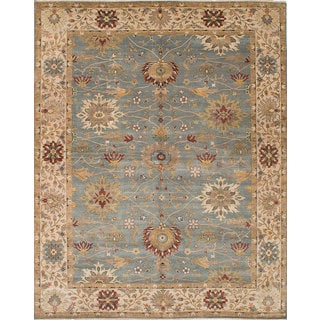 ecarpetgallery Heirloom Blue Wool Rug (10'0 x 13'8)
