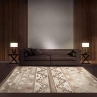 Safavieh Hand Woven Natural Kilim Grey Wool Rug 3 X 5
